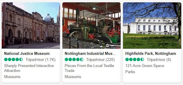 Nottingham Attractions 2