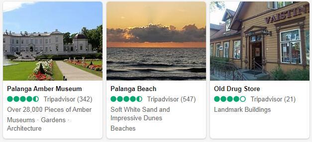 Palanga Attractions