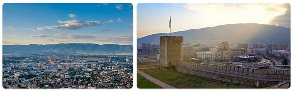 Northern Macedonia Capital City
