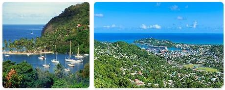 Saint Lucia Capital City