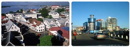 Suriname Capital City
