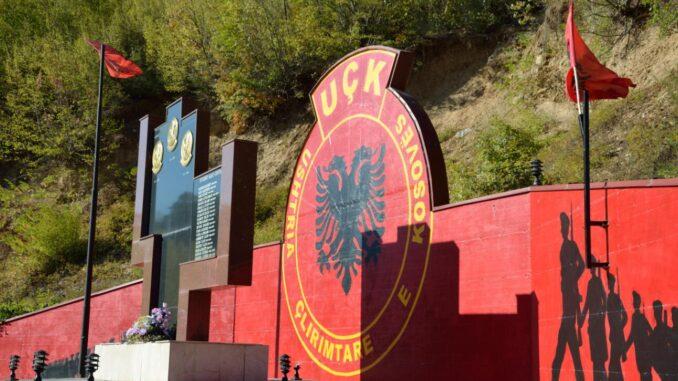 Kosovo UÇK monument